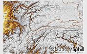 Physical 3D Map of Badakhshan