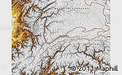 Physical Map of Badakhshan
