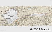 Classic Style Panoramic Map of Badakhshan