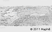 Silver Style Panoramic Map of Badakhshan