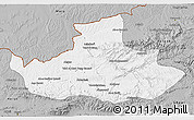 Gray 3D Map of Badghis
