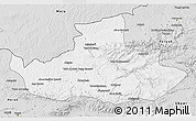 Silver Style 3D Map of Badghis