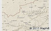 Shaded Relief Map of Badghis