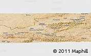 Satellite Panoramic Map of Badghis