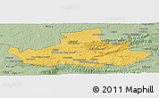 Savanna Style Panoramic Map of Badghis