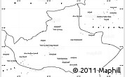 Blank Simple Map of Badghis