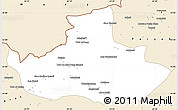 Classic Style Simple Map of Badghis