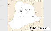 Classic Style Simple Map of Baghian