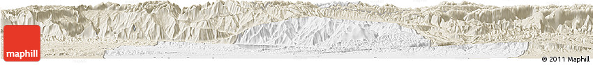 Classic Style Horizon Map of Balkh