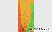Political Map of Balkh