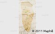 Satellite Map of Balkh, lighten