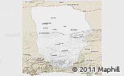 Classic Style Panoramic Map of Balkh