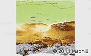 Physical Panoramic Map of Balkh