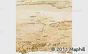 Satellite Panoramic Map of Balkh