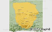 Savanna Style Panoramic Map of Balkh