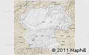 Classic Style 3D Map of Bamian