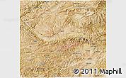 Satellite 3D Map of Bamian