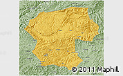 Savanna Style 3D Map of Bamian