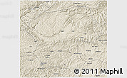 Shaded Relief 3D Map of Bamian