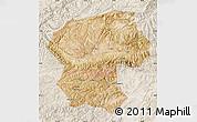 Satellite Map of Bamian, lighten