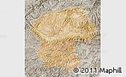 Satellite Map of Bamian, semi-desaturated
