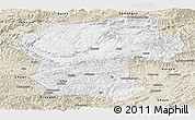 Classic Style Panoramic Map of Bamian