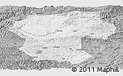 Gray Panoramic Map of Bamian