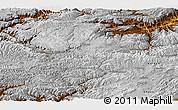 Physical Panoramic Map of Bamian