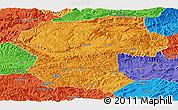Political Panoramic Map of Bamian