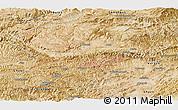Satellite Panoramic Map of Bamian