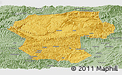 Savanna Style Panoramic Map of Bamian