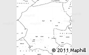 Blank Simple Map of Bamian