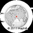 Outline Map of Farah