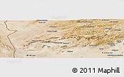 Satellite Panoramic Map of Farah