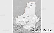 Gray 3D Map of Faryab