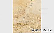 Satellite 3D Map of Faryab