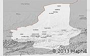 Gray Panoramic Map of Faryab
