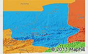 Political Panoramic Map of Faryab