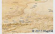 Satellite Panoramic Map of Faryab