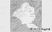 Gray 3D Map of Ghazn