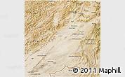 Satellite 3D Map of Ghazn