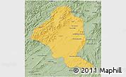 Savanna Style 3D Map of Ghazn