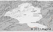 Gray Panoramic Map of Ghazn
