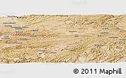 Satellite Panoramic Map of Ghowr
