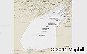Classic Style Panoramic Map of Helmand