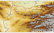 Physical 3D Map of Herat