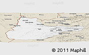Classic Style Panoramic Map of Herat