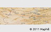 Satellite Panoramic Map of Herat