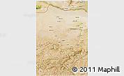 Satellite 3D Map of Jowzjan