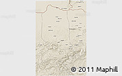Shaded Relief 3D Map of Jowzjan